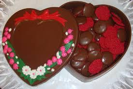 chocolate heart box heart jewelry box mold for chocolate