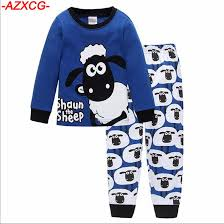 2018 2017 new boys pajamas children iron nightgown pyjamas