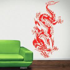 wall ideas wall decal artwork decal wall art nz oriental dragon