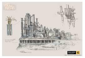 artstation game of thrones intro king u0027s landing development