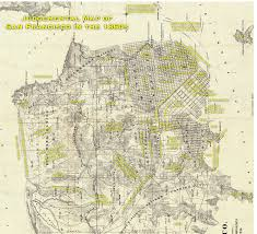 Muni San Francisco Map by Judgemental Map Of San Francisco 1860s Edition Burrito Justice