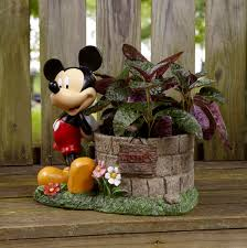 mickey mouse wishing well planter garden goodies pinterest