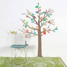 stickers arbre chambre enfant stickers arbre chambre bébé 2017 et stickers muraux arbre berceau