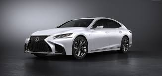 lexus sedan white wallpaper lexus ls 500 f sport white 2017 new york auto show