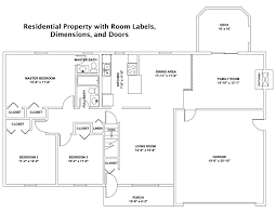 custom drawn cad floor plans and other services for real estate