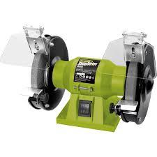 rockwell shopseries bench grinder 125mm 150 watt supercheap auto