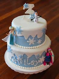 cakes becky frozen birthday cake
