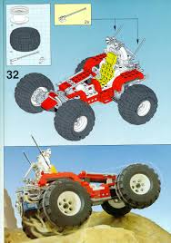 bigfoot 4x4 monster truck lego big foot 4x4 instructions 5561 model team