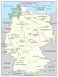 Germany Map Europe by Large Scale National Parks Map Of Germany Germany Europe
