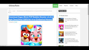 download angry birds pop bubble shooter v2 22 2 apk cheat mod 100