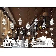 diy home window glass christmas xmas sticker wall decals diy home window glass christmas xmas sticker wall