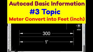 300 meter to feet units conversation meter convert into inch or feet how to