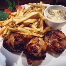 cuisine roller chicken leg roller and sauce picture of la cabane la