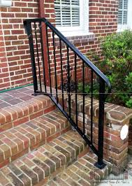 Steps With Handrails Porch And Step Rails