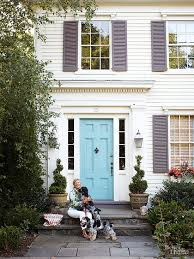 Front Door Colors For White House 27 Best Front Door Paint Color Ideas Home Stories A To Z