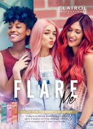 clairol professional flare hair color chart clairol professional launches permanent vivid hair color for the