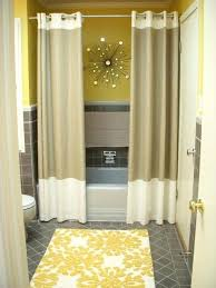 window treatment ideas for bathrooms shower curtain decor ideas neutralduo