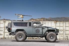 armored jeep wrangler unlimited vwerks recon military buildup