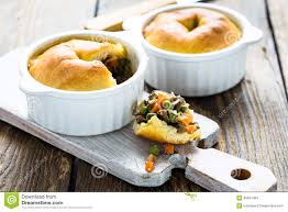 Pot Pie Variations by Pot Pie In Ramekin With Vegetables Stock Photo Image 40591469