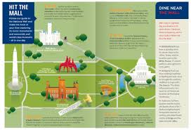 Gardens Mall Map National Mall Visitor Guide Map Visual Ly