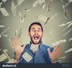 Going Crazy Happy Young Man Going Crazy Screaming Stock Photo 450687619