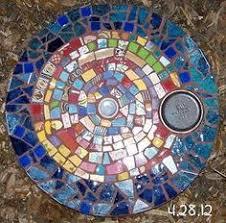 mosaic stepping stone mosaic garden art pinterest mosaic