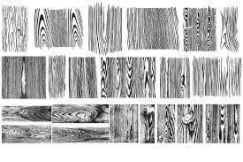 wood grain vector pack illustrations creative market