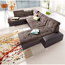choix canapé canapé d angle panoramique xl convertible tissu revêtement
