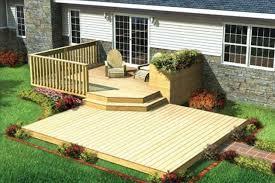 modern backyard decks home u0026 gardens geek