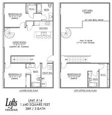 One Bedroom House Plans With Loft Cool Idea Loft Apartment Floor Plans On Home Design Ideas Homes Abc