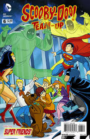 scooby doo thanksgiving supergirl comic box commentary review scooby doo team up 6