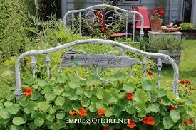 make a bed frame veggie garden empress of dirt