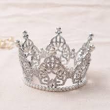 handmade tiaras rhinestone crowns tiaras bridal rhinestone pearl alloy veil tiaras