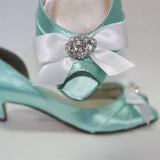 wedding shoes kitten heel women s turquoise wedding shoes satin rhinestone bow kitten heels
