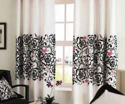 curtains gray and black curtains amazing white and black
