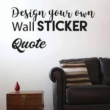 Custom Wall Stickers Custom Wall Decals Wall Sticker Design UK - Wall sticker design your own