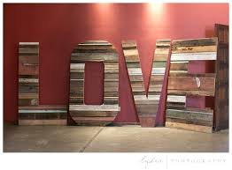 Barn Wood Letters Lydia Photographyminers Foundry One Fine Day 2014 Lydia