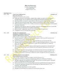 sample resume for interview executive assistant sample resume