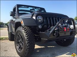 spyder jeep 2016 jeep wrangler willys with a poison spyder front bumper and