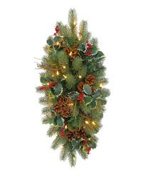 woodbury classic noble fir swag tree classics