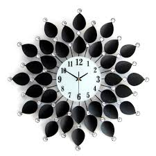 online shop modern living room wall clock simple and fashionable