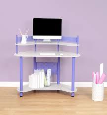 Corner Studio Desk Calico Designs 55121 Study Corner Desk Purple Arts