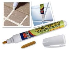 whitening grout and tile marker