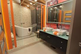 Orange Bathroom Photos I My Bath Diy