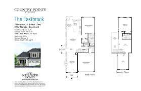 pointe homes floor plans country pointe meadows u2013 beechwood homes