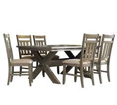 amazon com powell turino dining set 7 piece table u0026 chair sets
