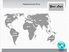 interactive world map powerpoint world map outline with countries