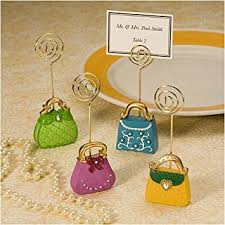 chic purse inspired place card holders 1
