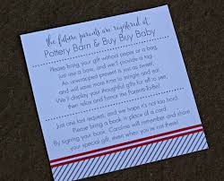 baby shower invitation wording for gifts baby shower invitations