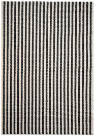 White Rug Chester Eco Cotton Rug Black White Hook U0026 Loom